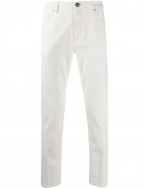 Tagliatore Straight Jeans - Wit afbeelding