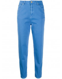 Temperley London Cropped Jeans - Blauw afbeelding