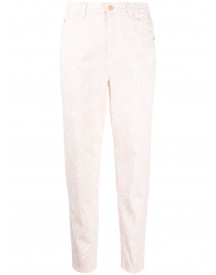 Temperley London Cropped Jeans - Roze afbeelding