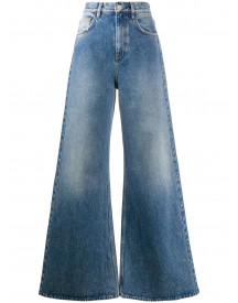 The Attico Flared Jeans - Blauw afbeelding
