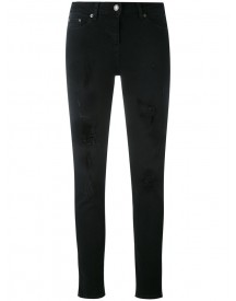 The Kooples - Jimmy Destroyed Skinny Jeans - Women - Cotton/polyester/spandex/elastane - 27 afbeelding