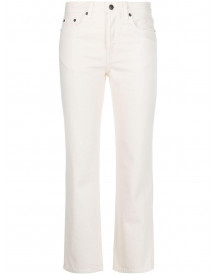 The Row Cropped Jeans - Nude afbeelding