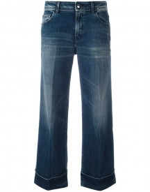The Seafarer - Cropped Flared Jeans - Women - Cotton/polyurethane - 28 afbeelding