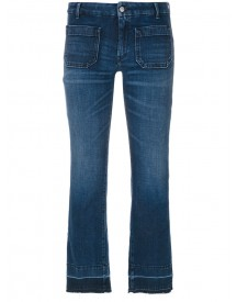 The Seafarer - Kick Flare Jeans - Women - Cotton/polyester/spandex/elastane - 28 afbeelding