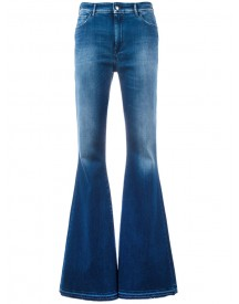 The Seafarer - Wide Flare Jeans - Women - Cotton/polyester/spandex/elastane - 28 afbeelding