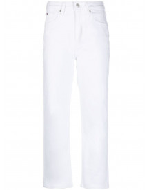 Tommy Hilfiger Cropped Denim Jeans - Wit afbeelding