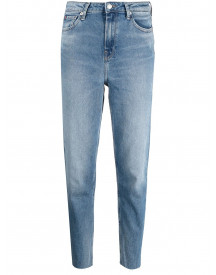 Tommy Hilfiger Cropped Jeans - Blauw afbeelding