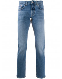 Tommy Hilfiger Slim-fit Jeans - Blauw afbeelding