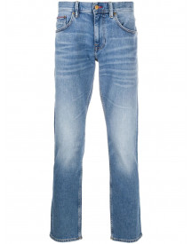 Tommy Hilfiger Straight Jeans - Blauw afbeelding