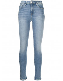 Tommy Hilfiger Skinny Jeans - Blauw afbeelding