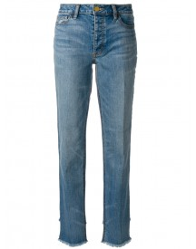 Tory Burch - Straight Jeans - Women - Cotton/spandex/elastane - 26 afbeelding