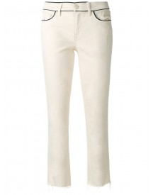 Tory Burch - Straight Jeans - Women - Cotton/spandex/elastane - 27 afbeelding