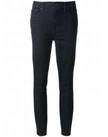 Tory Burch - Straight Jeans - Women - Cotton/spandex/elastane/other Fibres - 32 afbeelding
