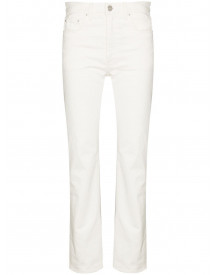 Totême Straight Jeans - Wit afbeelding