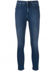 Twin-set Slim-fit Jeans - Blauw afbeelding