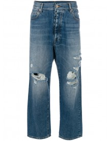 Unravel Project - Baggy Boyfriend Jeans - Women - Cotton/polyester - 25 afbeelding