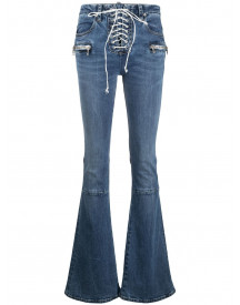 Unravel Project Bootcut Jeans - Blauw afbeelding