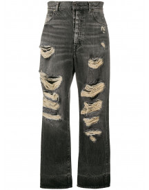 Unravel Project Straight Jeans - Zwart afbeelding