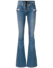 Unravel Project - Flared Jeans - Women - Cotton/polyester/spandex/elastane - 28 afbeelding