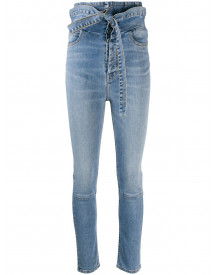 Unravel Project High Waist Jeans - Blauw afbeelding