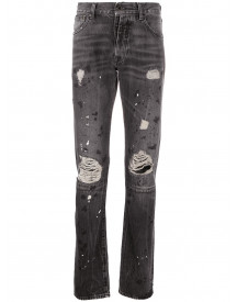 Unravel Project Slim-fit Jeans - Zwart afbeelding