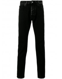 Valentino - Slim-fit Jeans - Men - Cotton/leather - 31 afbeelding