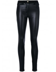 Versace - Eco-leather Skinny Jeans - Women - Cotton/spandex/elastane - 28 afbeelding