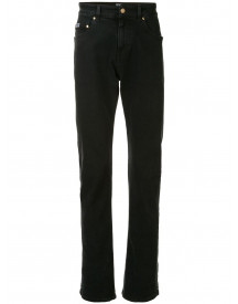 Versace Jeans Couture Straight Jeans - Zwart afbeelding