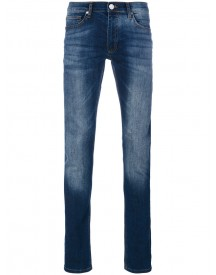 Versace Jeans - Distressed Slim-fit Jeans - Men - Cotton/spandex/elastane - 34 afbeelding