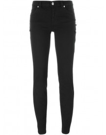Versus - Safety Pin Detail Skinny Jeans - Women - Cotton/spandex/elastane/metal (other) - 26 afbeelding