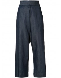 Vivienne Westwood Anglomania - Denim Culottes - Women - Cotton/lyocell - 40 afbeelding