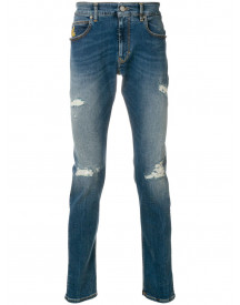Vivienne Westwood Anglomania Distressed Jeans - Blauw afbeelding