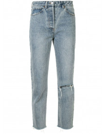 We Are Kindred Cropped Jeans - Blauw afbeelding