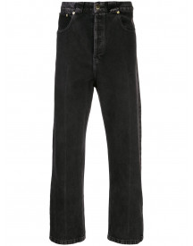 Willy Chavarria Straight Jeans - Zwart afbeelding