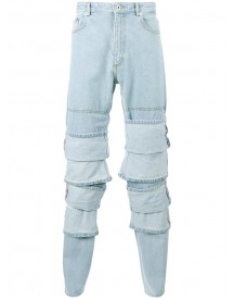 Y / Project - Multi Layered Jeans - Men - Cotton - S afbeelding