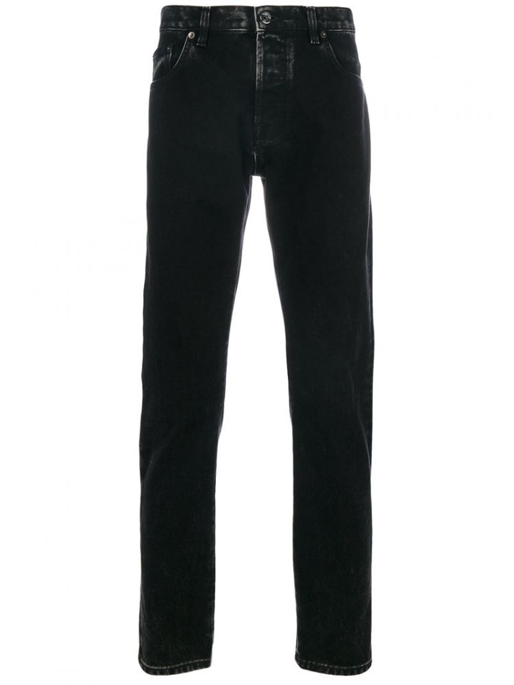 Image Valentino - Marble Wash Jeans - Men - Cotton/polyester - 32