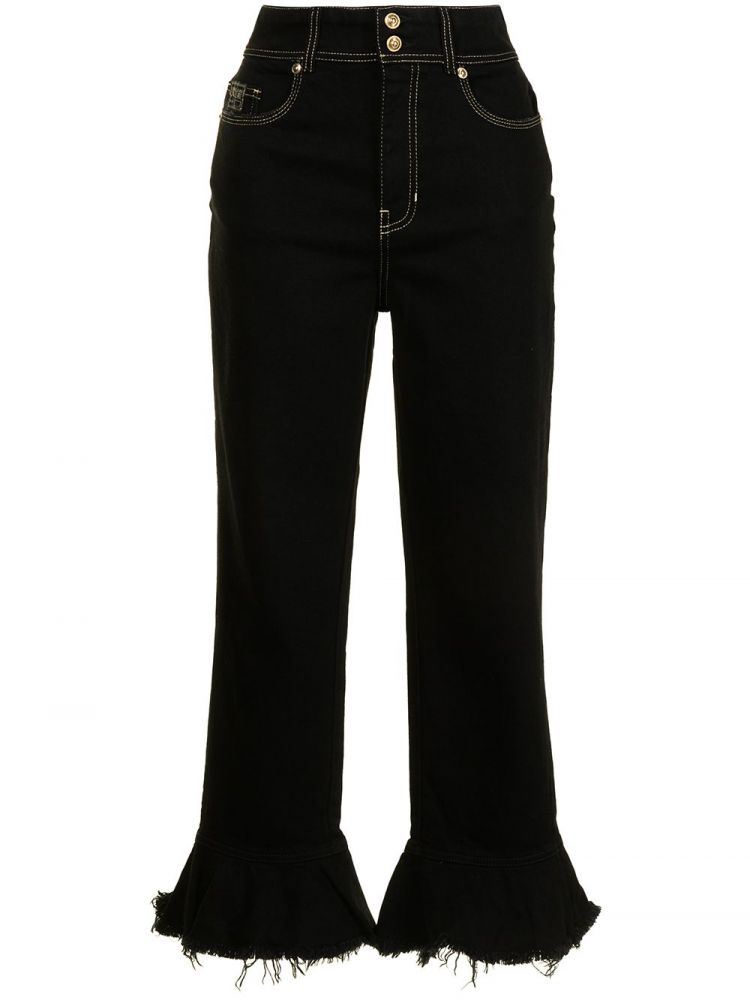 Image Versace Jeans Couture Flared Jeans - Zwart