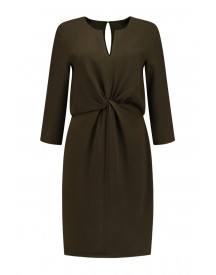 Dante 6 Burton Knot Detail Dress Army - 174516 650 afbeelding