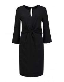 Dante 6 Burton Knot Detail Dress In Raven - 174516 900 afbeelding