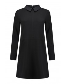 Ganni Dress Clark In Black - F1968 1567 99 afbeelding