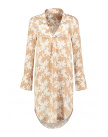 Notes Du Nord Catherine Tunic Dress In Flower Shadow Nude - 10195 914 afbeelding