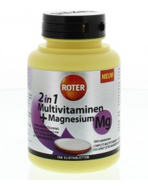 Multivitaminen 188 Mg Magnesium afbeelding