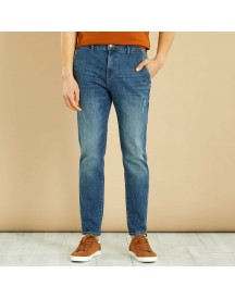 Slimfit Denim Chinobroek afbeelding
