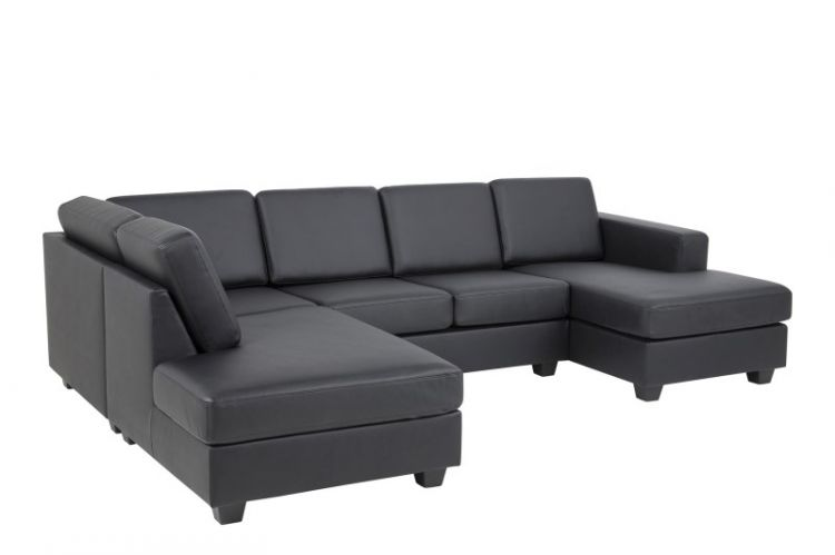 Image Chaise Longue Findi Zwart Links