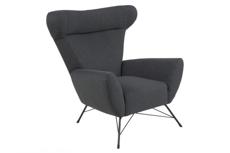 Image Fauteuil James Antraciet