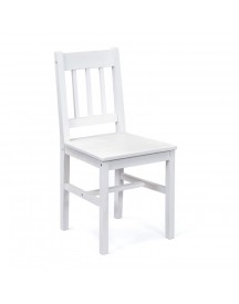 Palmiro Dining Room Chair Palmiro - Pine White 2pc/box afbeelding