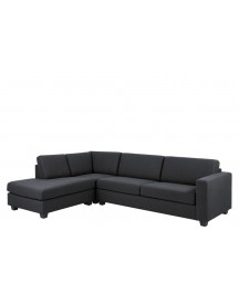 Chaise Longue Findi Antraciet Links afbeelding