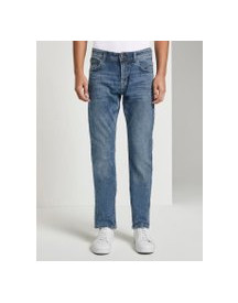 Tom Tailor Denim Aedan Straight Jeans, Heren, Super Stone Blue Denim, 28/32 afbeelding