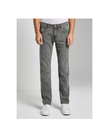 Tom Tailor Denim Aedan Straight Superstretch Jeans , Heren, Grey Denim, 31/34 afbeelding