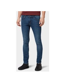 Tom Tailor Denim Culver Skinny Jeans , Heren, Used Mid Stone Blue Denim, 31/34 afbeelding